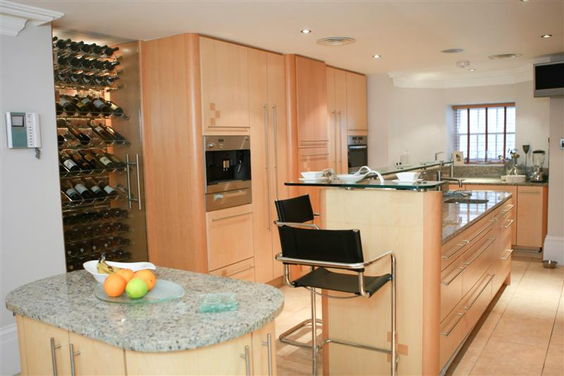 Kings Maple/Alder Kitchen